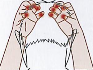 育毛シャンプーの利用方法を解説している画像